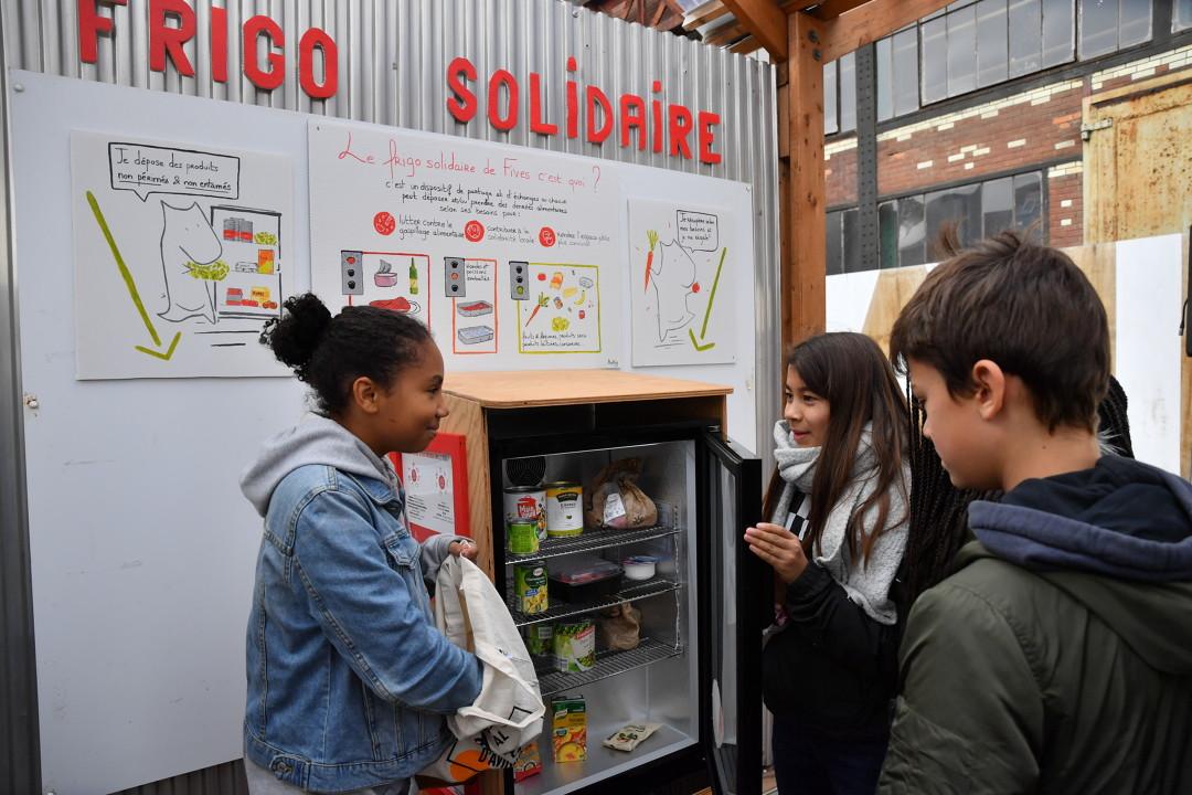 Frigos solidaires : les denrées alimentaires pour tous
