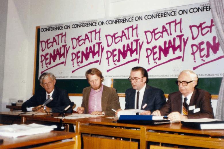 Commémoration de l'abolition de la peine de mort