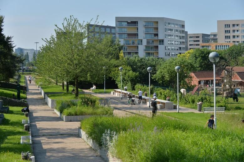 Dondaines un nouvel espace vert actualit s ville de for Espace vert mairie