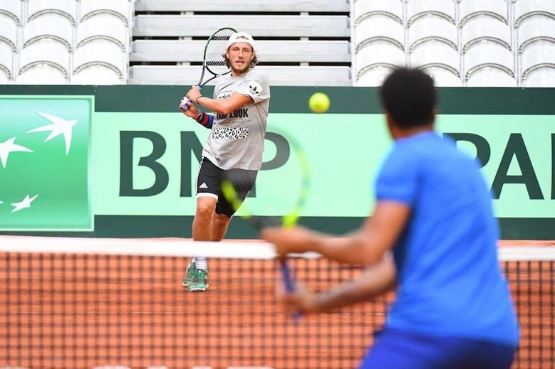 Lucas Pouille - photo Laurent Sanson