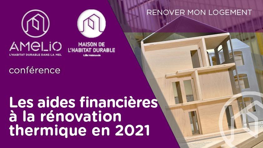 Les aides financières à la rénovation thermique en 2021