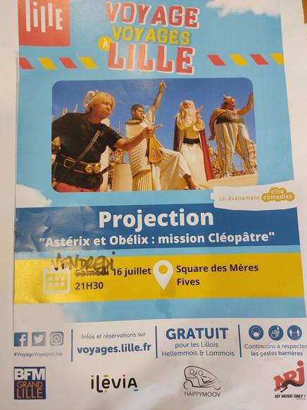 Projection - Voyage Voyages à Lille