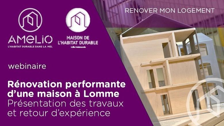 Rénovation d'une maison performante à Lomme
