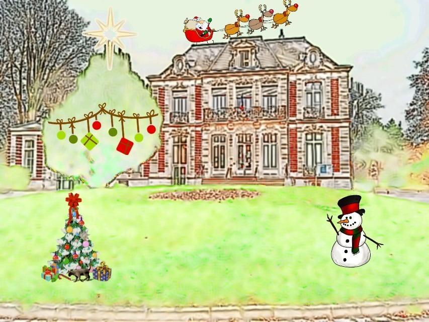 Saint-Maurice Pellevoisin aux couleurs de Noël