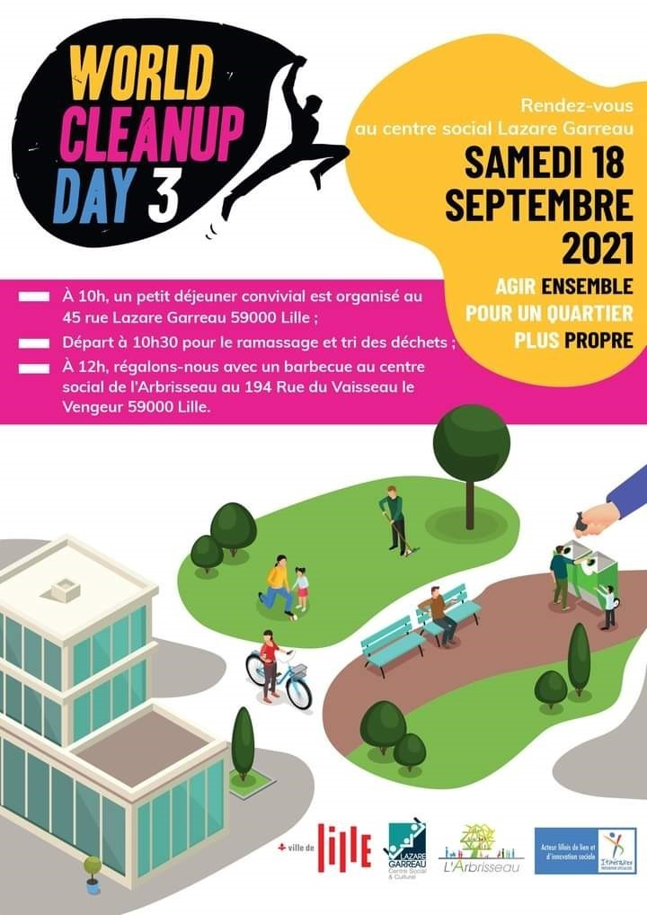 World Clean Up Day - Lille Sud