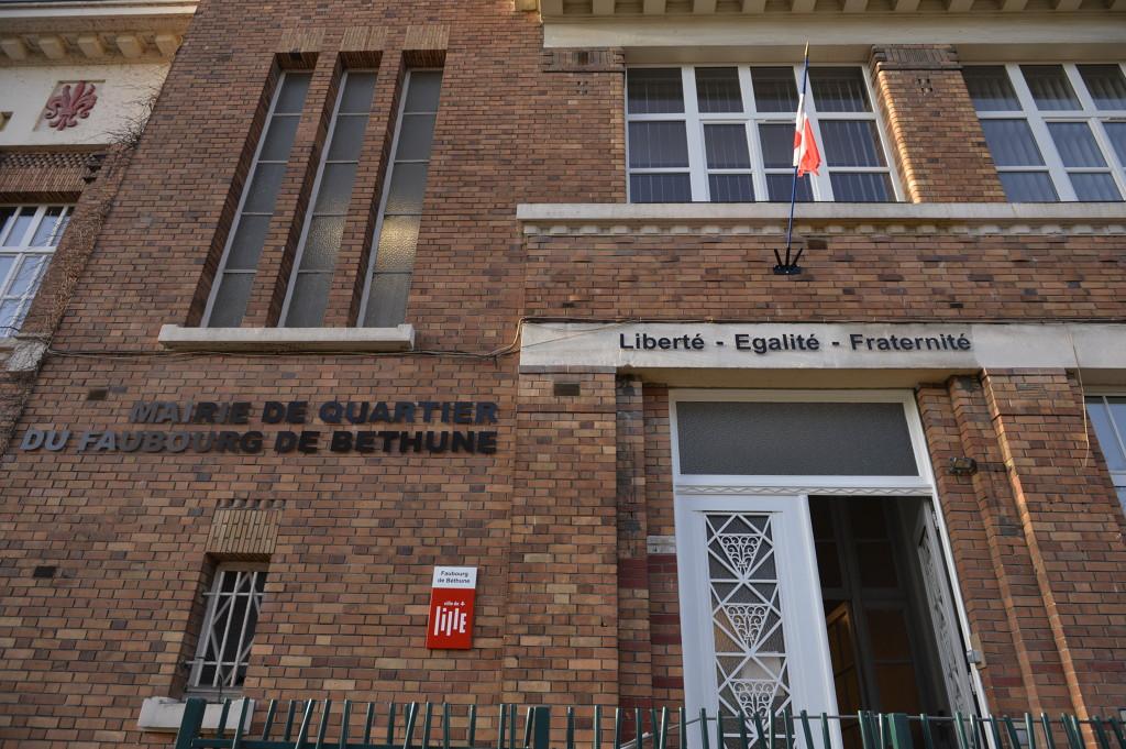 Mairie de quartier de faubourg de b thune nos for Mon garage lille fives