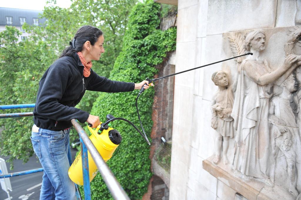 La restauration du patrimoine le patrimoine lillois for Mon garage lille fives