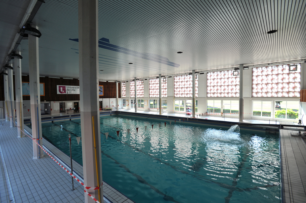 Piscine universitaire j savoye nos quipements ville for Horaires piscine bethune