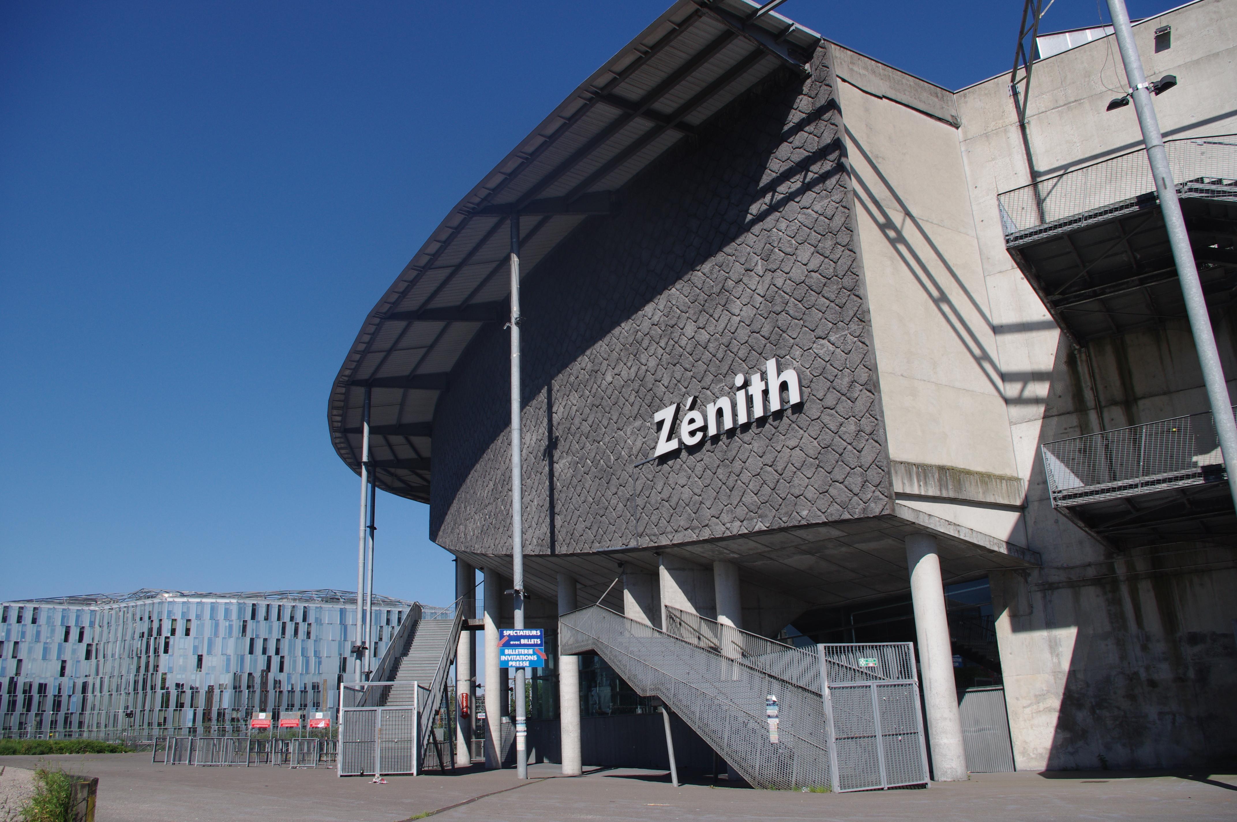 Z U00e9nith Arena De Lille    Nos  U00e9quipements